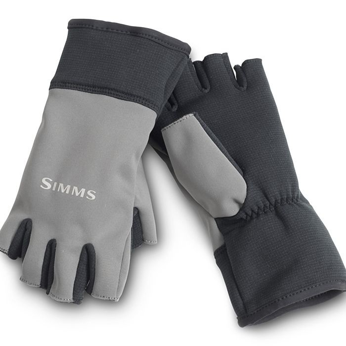Simms windstopper half-finger glove gunmetal xl